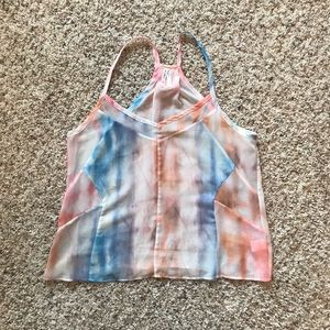 Gentle Fawn tie dye tank top